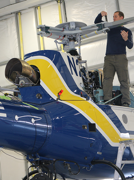 Helicopter Repair & Maintenance | Bell, MD, Airbus Leonardo